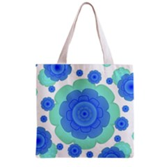 Retro Style Decorative Abstract Pattern Grocery Tote Bag
