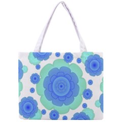 Retro Style Decorative Abstract Pattern Tiny Tote Bag