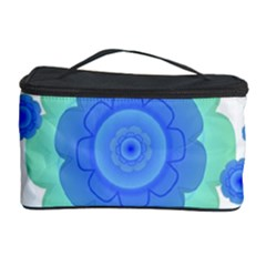 Retro Style Decorative Abstract Pattern Cosmetic Storage Case