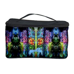 painted silk by saprillika Cosmetic Storage Case