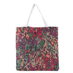 Color mix Grocery Tote Bag