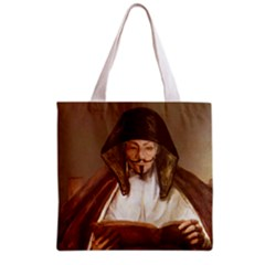 Anonymous Reading Grocery Tote Bag