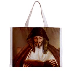 Anonymous Reading Tiny Tote Bag