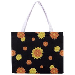 Floral Print Modern Style Pattern  Tiny Tote Bag