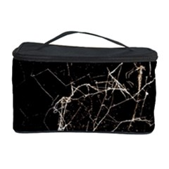 Spider Web Print Grunge Dark Texture Cosmetic Storage Case