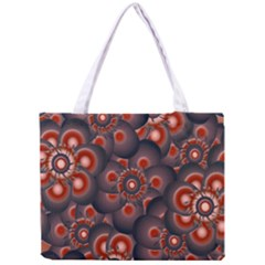 Modern Floral Decorative Pattern Print Tiny Tote Bag