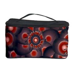 Modern Floral Decorative Pattern Print Cosmetic Storage Case