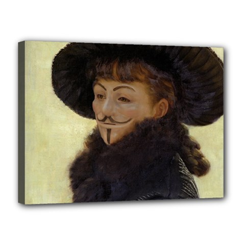 Kathleen Anonymous Ipad Canvas 16  X 12  (framed)