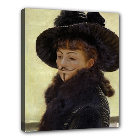 Kathleen Anonymous Ipad Deluxe Canvas 24  X 20  (framed)