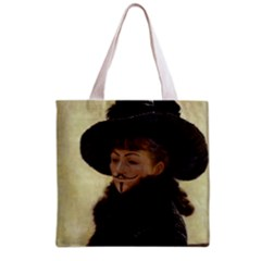 Kathleen Anonymous Ipad Grocery Tote Bag