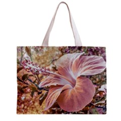 Fantasy Colors Hibiscus Flower Digital Photography Tiny Tote Bag