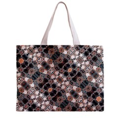 Modern Arabesque Pattern Print Tiny Tote Bag