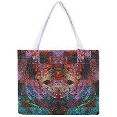 Colorful Abstract Modern Art Red Purple Mini Tote Bag
