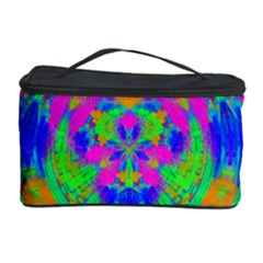 Neon Abstract Circles Cosmetic Storage Case