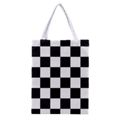Checkered Flag Race Winner Mosaic Tile Pattern Classic Tote Bag