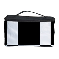 Checkered Mosaic Tile Pattern Black White  Cosmetic Storage Case