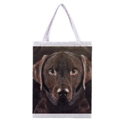 Chocolate Lab Classic Tote Bag