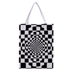 Checkered Flag Race Winner Mosaic Tile Pattern Repeat Classic Tote Bag