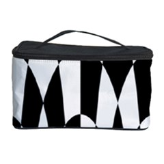 Checkered Flag Race Winner Mosaic Pattern Curves  Cosmetic Storage Case