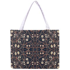 Victorian Style Grunge Pattern Tiny Tote Bag