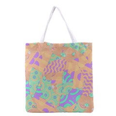 Tropical Summer Fruit Orange Lime Berry Grocery Tote Bag