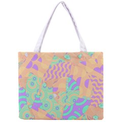 Tropical Summer Fruit Orange Lime Berry Mini Tote Bag