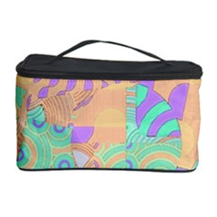 Tropical Summer Fruit Orange Lime Berry Cosmetic Storage Case