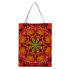 Florescent Abstract Classic Tote Bag