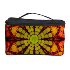 Florescent Abstract Cosmetic Storage Case