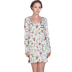 Garden Party Long Sleeve Nightdress