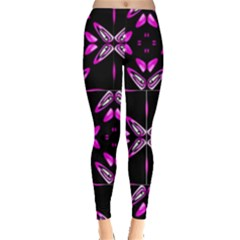 Abstract Pain Frustration Leggings