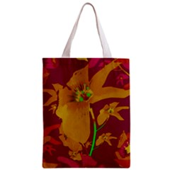 Tropical Hawaiian Style Lilies Collage Classic Tote Bag