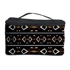 Tribal Dark Geometric Pattern03 Cosmetic Storage Case
