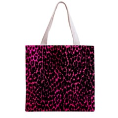 Hot Pink Leopard Print  Grocery Tote Bag