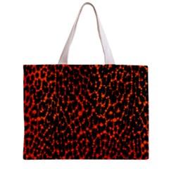 Florescent Leopard Print  Tiny Tote Bag