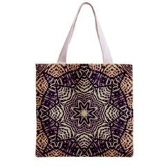 Crazy Beautiful Abstract  Grocery Tote Bag