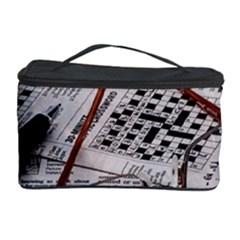 Crossword Genius Cosmetic Storage Case