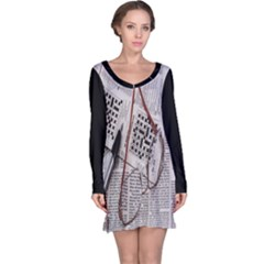 Crossword Genius Long Sleeve Nightdress