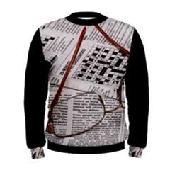 Crossword Genius Men s Sweatshirt