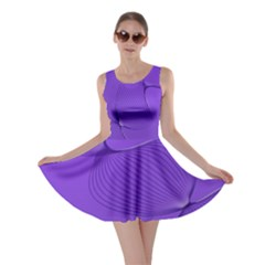 Twisted Purple Pain Signals Skater Dress