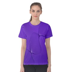 Twisted Purple Pain Signals Women s Cotton Tee