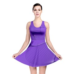 Twisted Purple Pain Signals Reversible Skater Dress