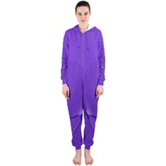 Twisted Purple Pain Signals Hooded OnePiece Jumpsuit (Ladies)