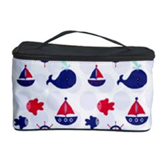 Nautical Sea Pattern Cosmetic Storage Case