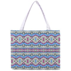 Aztec Style Pattern in Pastel Colors Tiny Tote Bag