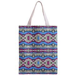 Aztec Style Pattern in Pastel Colors Classic Tote Bag