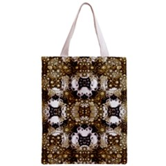 Baroque Ornament Pattern Print Classic Tote Bag