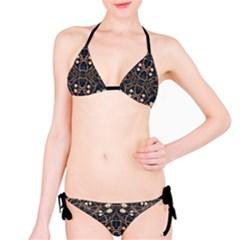 Victorian Style Grunge Pattern Bikini