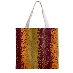 Scattered pieces Grocery Tote Bag