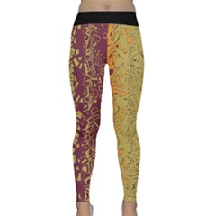 Scattered Pieces Yoga Leggings